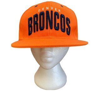 NWOT Denver Broncos Snapback Hat NFL Embroidered